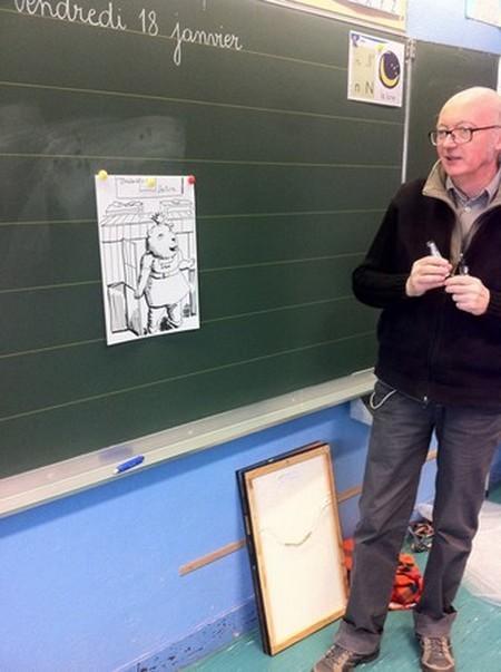 Cole l mentaire charles p guy album cycle 2 la rencontre avec l 39 illustrateur - Comment dessiner un cochon d inde ...